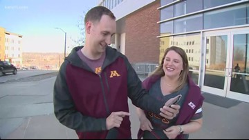 Gopher fans 'show up' for Louisville win