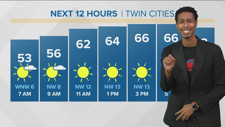 Late morning weather 7-21-2021