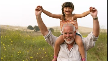 Healthy activities for kids and their grandparents