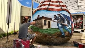 'Freedom Rock' dedicated in Minnesota