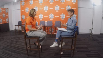 1-on-1 with Coach Reeve on All-Star Eve, she gets real about why the event isn't all hype