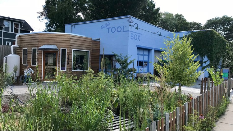 Belle's ToolBox was opened in an old auto repair shop