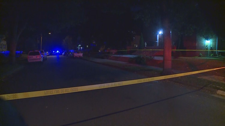 Police were dispatched to the 1000-block of Morgan Avenue North just after 8 p.m. on reports of shots fired. Officers found the victim laying on the ground with no pulse.