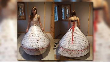 Playing card dress takes home top MN State Fair prize