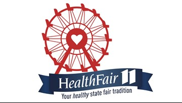 Get checked out again at Health Fair 11 at the Fair