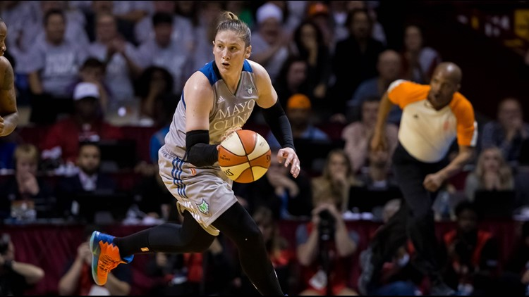 Lindsay Whalen Day proclaimed in Minnesota