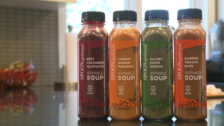Minnetonka woman creates 'Spoon Optional' soup for on-the-go