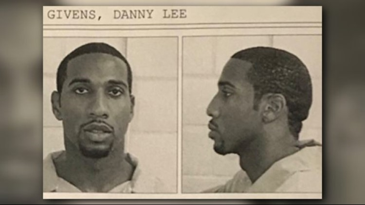 Danny Givens' prison photo