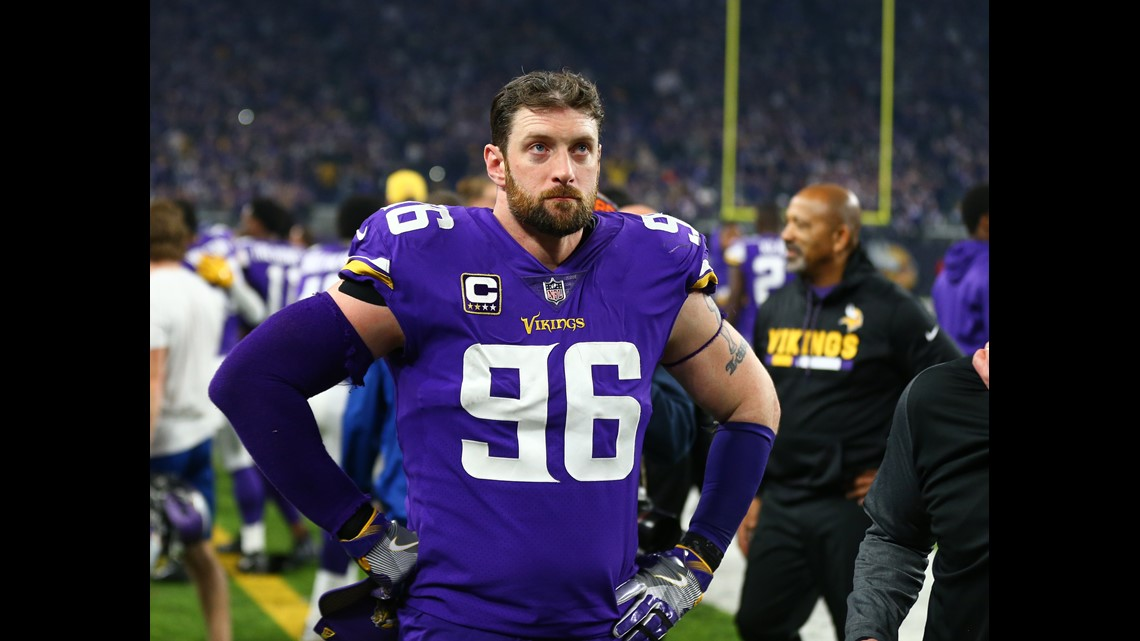 Vikings release 11th-year DE Robison, with 60 career sacks ...