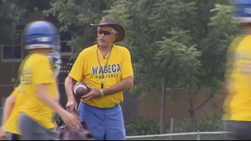 Tackle Cancer: Waseca freshman football coach, Ted Hammond