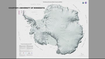 U of M scientists create first high-res map of Antarctica