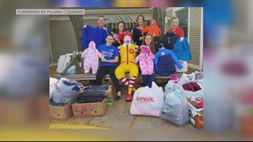 Pilgrim Dry Cleaners holds 33rd annual Coats for Kids drive