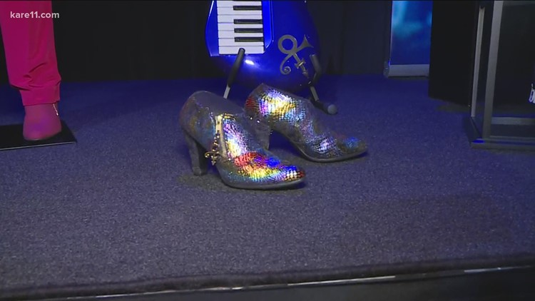 Prince's footwear collection steps forward in new exhibition at Paisley Park