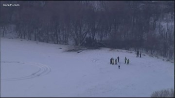 National Guard helicopter crash site located