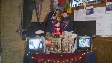 North Loop bar hosts lucky Twins shrine