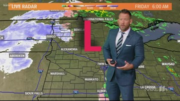Late morning weather 10-11-2019