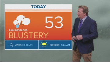 Midday weather forecast 4-17-19