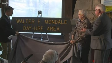 Mondale honored for saving wild rivers