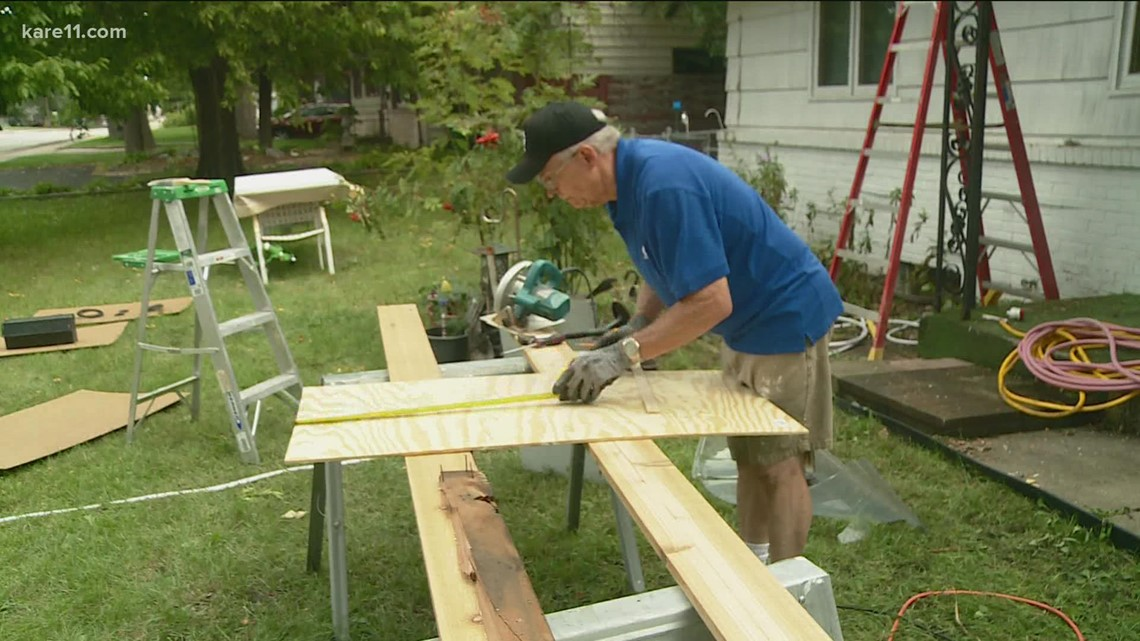 Communities that KARE: Mike Jans with Hearts and Hammers