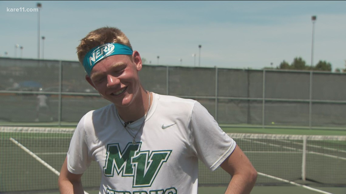 Swenson wins state in straight sets, Edina's doubles also capture title