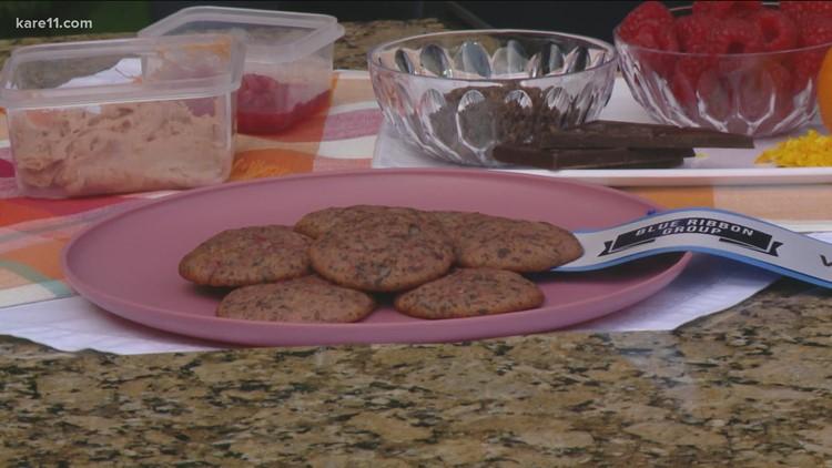 RECIPE: Blue Ribbon Raspberry Chambord Chocolate Chunk Cookies