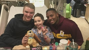 9-year-old's cancer journey is colored Maroon and Gold