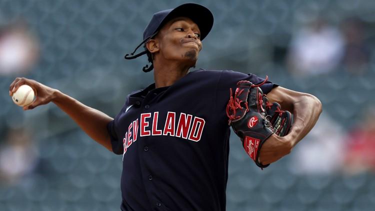 Triston McKenzie, Indians take 1st game; Twins gain DH split