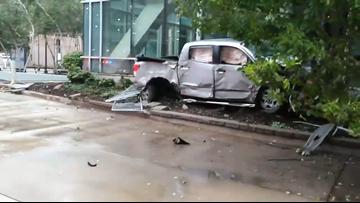 Police: Stolen pickup truck causes crash injuring 4 people
