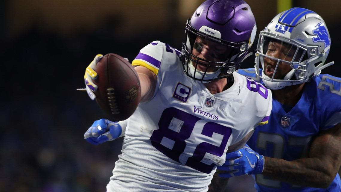 Vikings TE Kyle Rudolph wins Walter Payton Man of the Year Charity Challenge