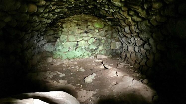 Interior of the Soderberg root celler
