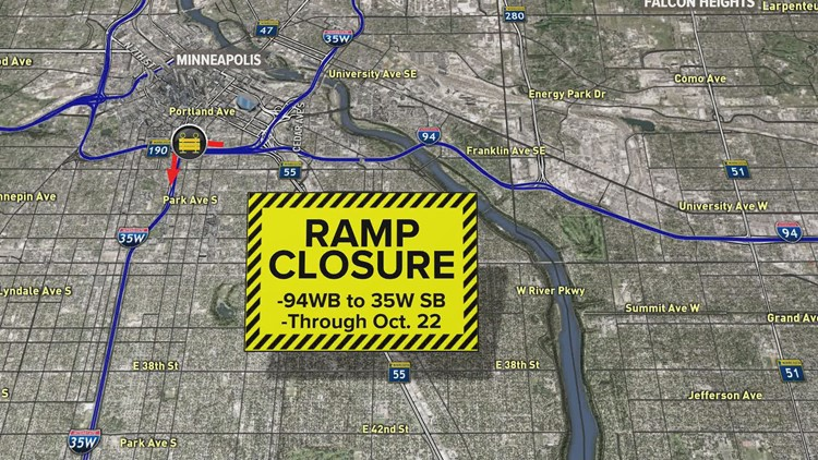 Metro road closures to cause weekend headaches