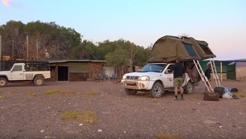 Explore with Sven: Camping in Namibia