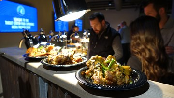 New foods unveiled at Target Center