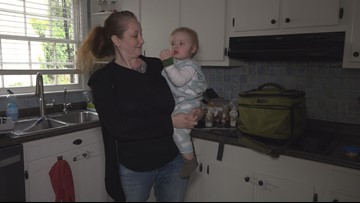 Greensboro Mom With 2 Kids, No Power Gets Creative to Keep Breast Milk from Spoiling