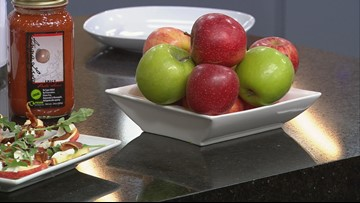 Chef Lisa's crock pot crunch apples