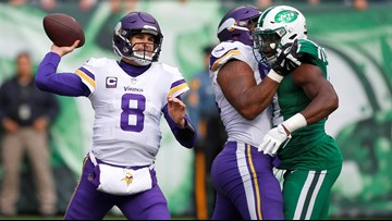 McNiff's Riffs:  Vikes play 'complimentary football' to get past error-prone Jets
