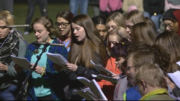 Gathering of Hope held for Jayme Closs in Barron