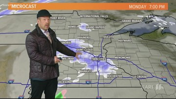 Late morning weather 1-13-2020