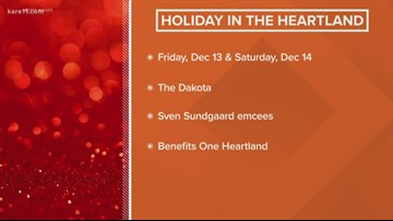 'Holiday in the Heartland' gala coming up this weekend