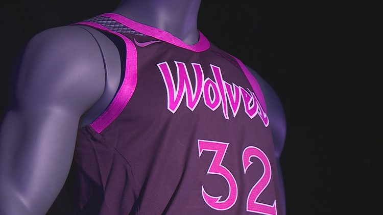 Timberwolves unveil Prince-inspired uniforms  398ef1149