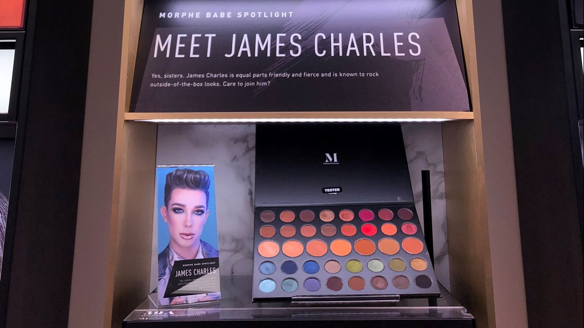Morphe Makeup Store Opens In Mall Of America Features James Charles Kare11 Com Pour les articles homonymes, voir morphée (homonymie). morphe makeup store opens in mall of