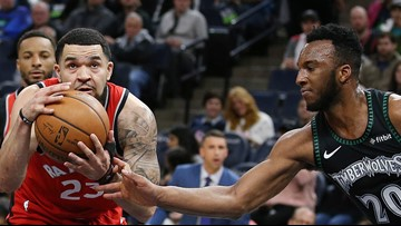 Raptors end regular season with 120-100 win over T-Wolves