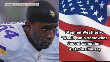 Which Vikings player would make the best politician?