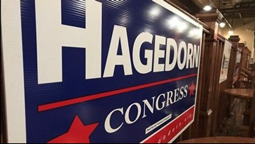 Hagedorn claims victory in 1st Congressional District
