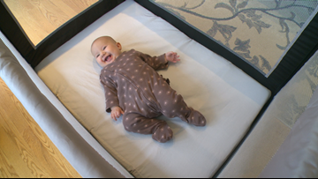 Edina entrepreneur's 'Linen & Leah' promotes safe sleep for babies