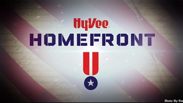 Hy-Vee promotes Homefront initiative to help veterans