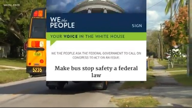 Parents, school bus drivers start petition to create federal law
