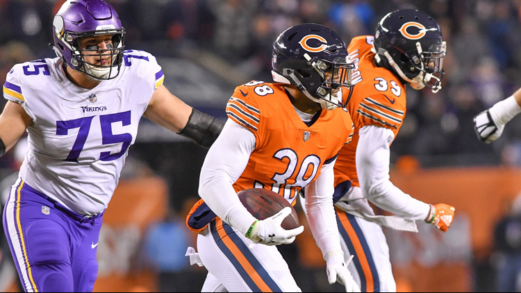 Bears beat Vikings 25-20, tighten grip on NFC North