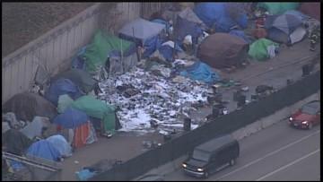 Fire destroys multiple tents at Mpls. homeless encampment