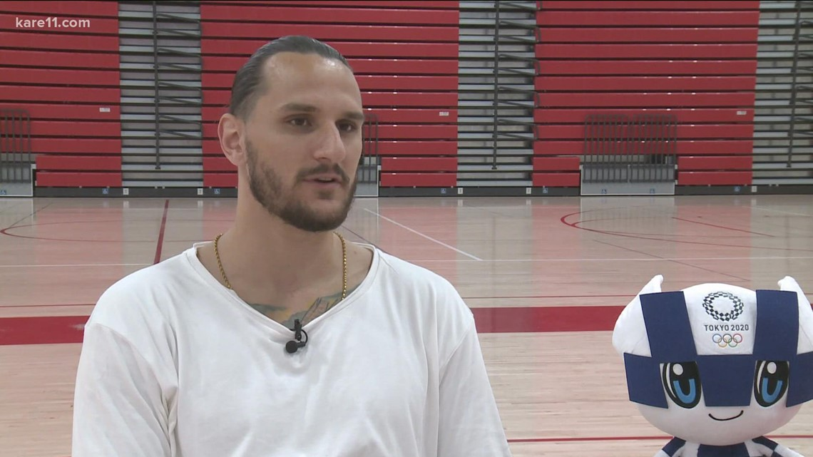 St. Paul man returns to U.S. after playing basketball for Iran in Tokyo Olympics